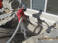 Commercial & Residential Rock Blowing Services fort lauderdale
